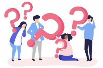 Imagem mostra pessoas e pontos de interrogação para denotar questionamento