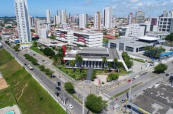 Imagem mostra visão aérea do complexo trabalhista de Natal